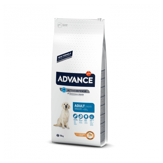 Advance maxi adult pollo y arroz 14 Kg