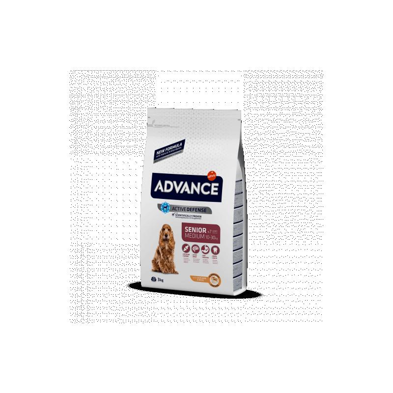 Advance medium senior pollo y arroz 12 Kg