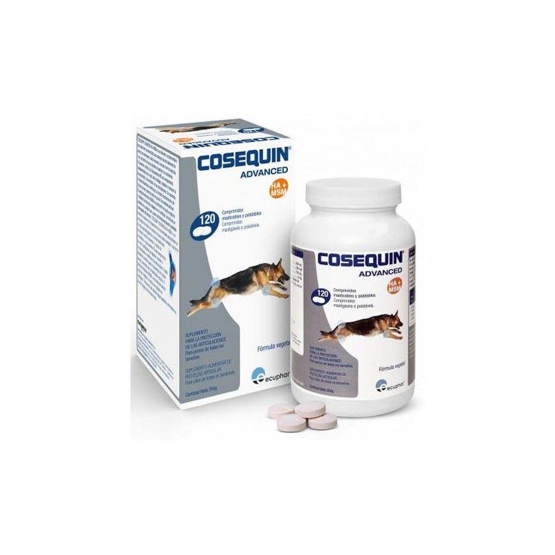 Ecuphar Cosequin Advance MSM HA 120 comprimidos