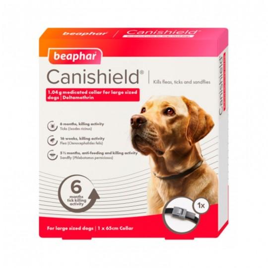Beaphar Canishield Pack 2 Collares Antiparasitarios 65 cm cada uno