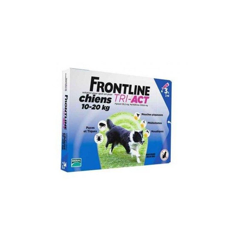 Merial Frontline tri-act 6 pipetas para perros protección total 10-20 kg