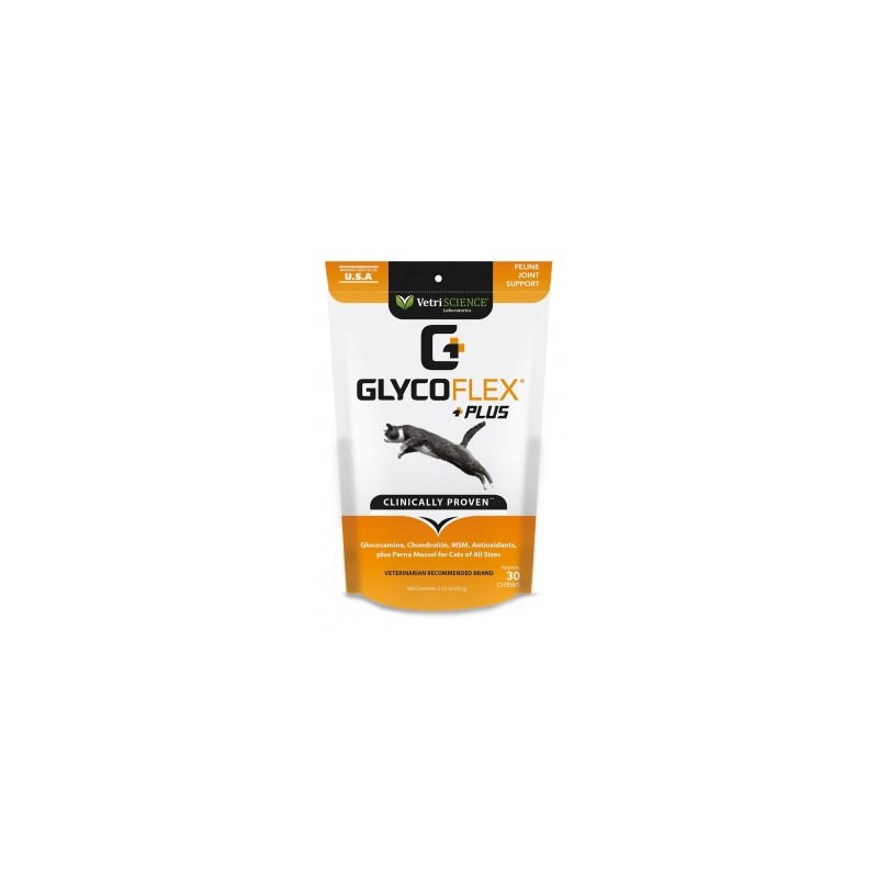 Vetnova Glyco-flex Plus Gatos 30 Chews