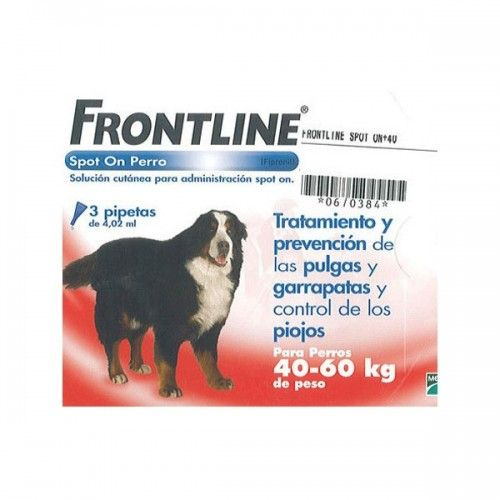 Frontline spot on 40 a 60 kg 3 pipeta