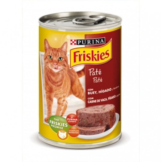 Friskies Gato Adulto con Buey e Hígado en Paté 400 GR