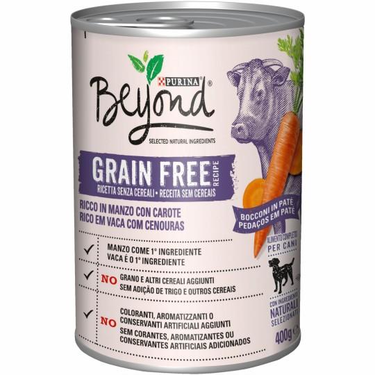 Purina Beyond Grain Free Perro Buey 400 Gr