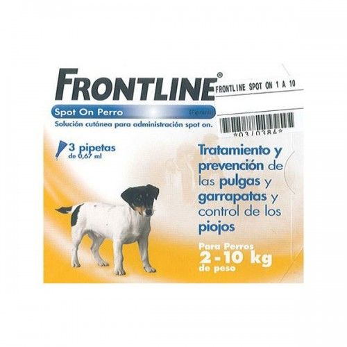 Frontline spot on 2 a 10 kg 6 pipetas