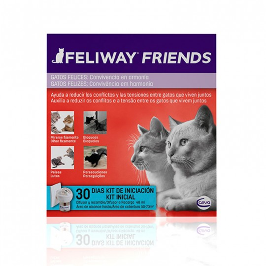 Feliway Friends Difusor más Recambio 48 Ml