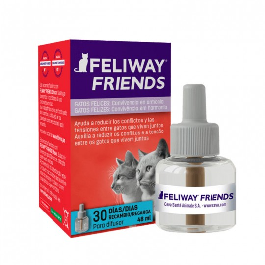 Ceva Feliway Friends Recambio 48 ml