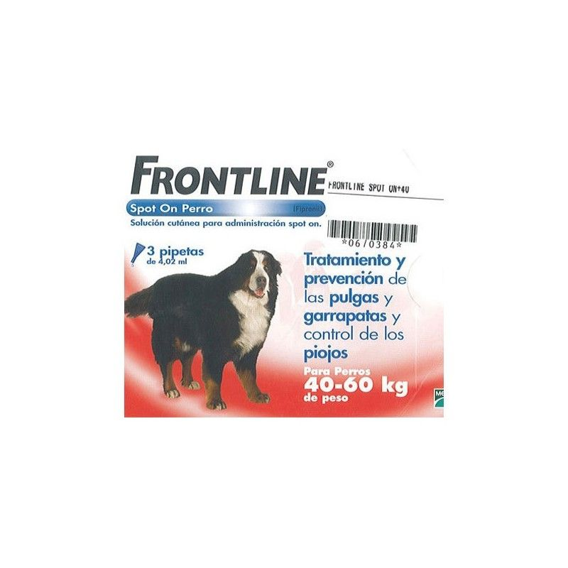 Frontline spot on 40 a 60 kg 6 pipeta