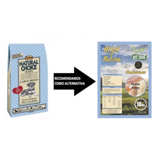 Nutro pienso perros puppy pollo razas grandes 12 Kg