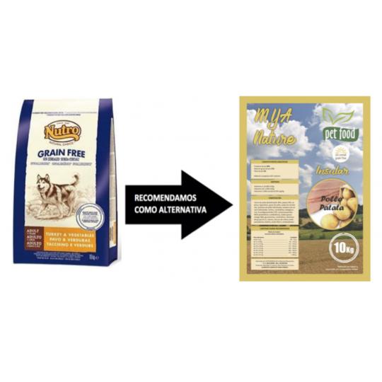 Nutro Pavo sin cereales 10 Kg