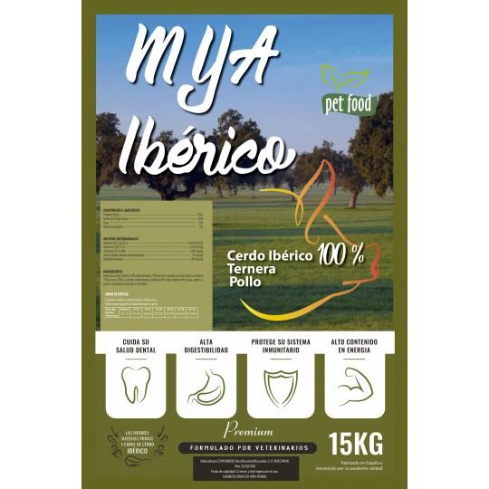 MyA Premium Ibérico. Pack Ahorro 75 kilos. 4 sacos + 1 saco de regalo.