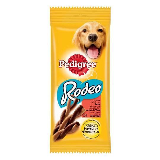 Pedigree Rodeo snack para perros en espirales con buey