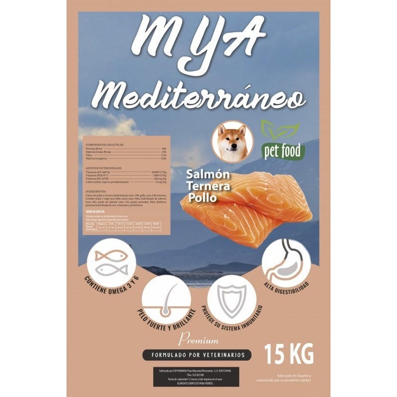 Mediterráneo Salmon 15 Kg