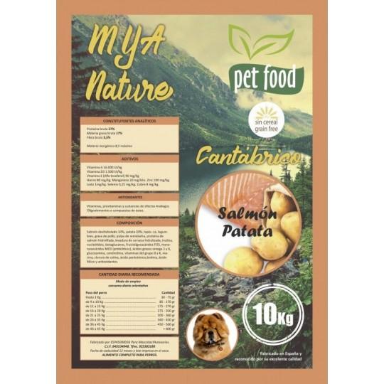 MyA Sin Cereal Nature Cantábrico 10 Kg