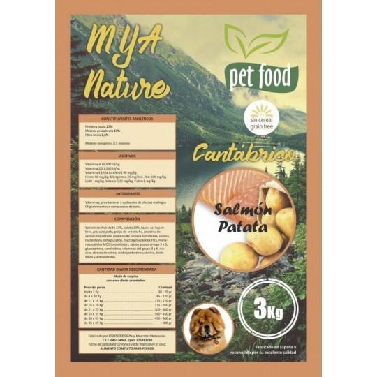 MyA Sin Cereal Nature Cantábrico 3 Kg