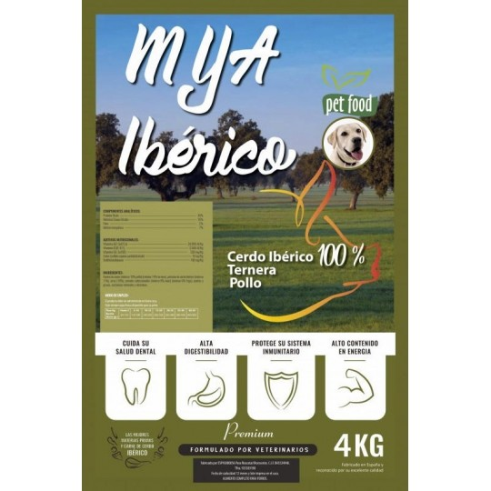 MyA Premium Ibérico 4 Kg