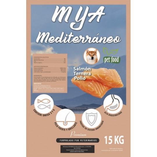 MyA Premium Mediterráneo. Pack4 sacos. 60 kilos