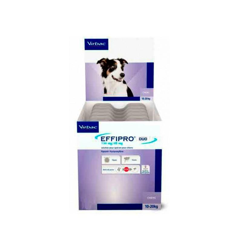Effipro Duo Spot On Pipetas Para Perros Medianos 4 Pipetas