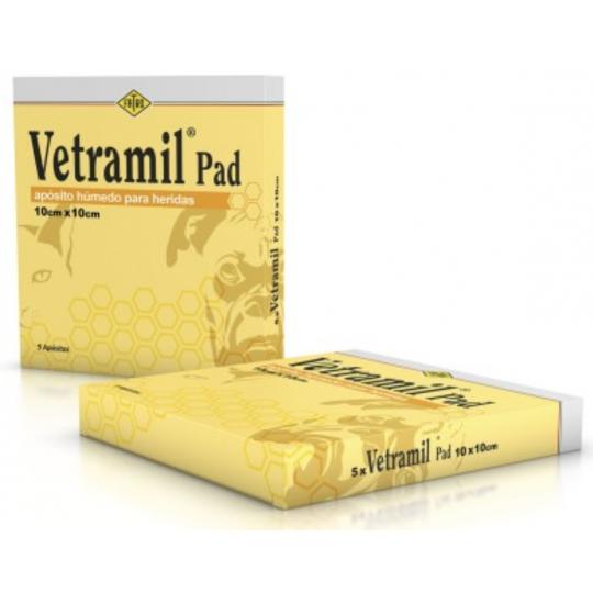 Fatro Vetramil Pad 5 apósitos de 10 cm x 10 cm..