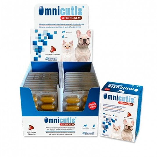Hifamax Omnicutis Atopicalm Dermoprotector 200 caps