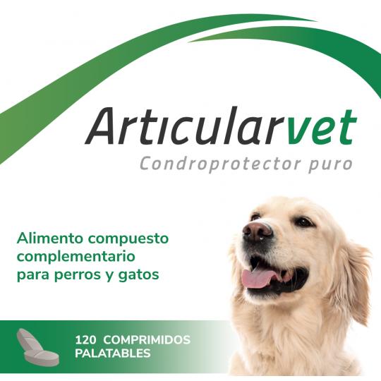 Hifarmax ArticularVet 120 cds Condoprotector puro para perros y gatos