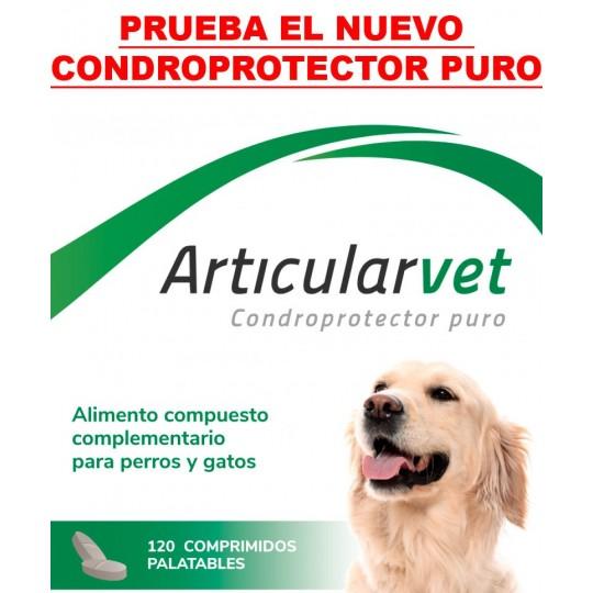 Farmadiet Hyaloral para perros de razas grandes 120 cds en caja