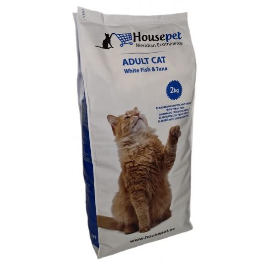Alimento-Adult-Cat White-Fish-&-Tuna-Housepet