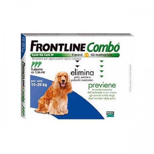 Frontline combo spot on perros 10-20 kg 3 pipetas
