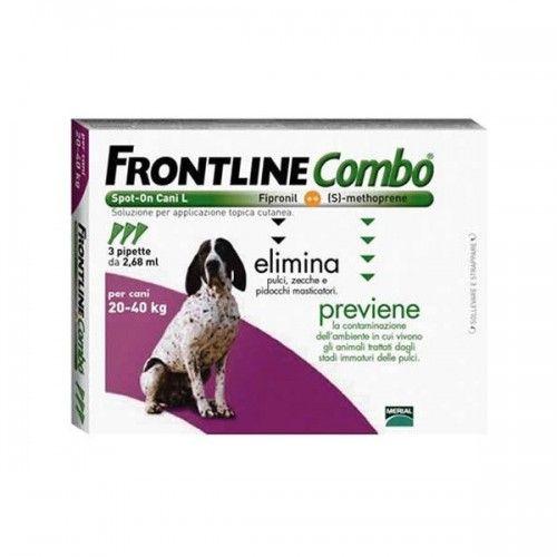 Frontline combo spot on perros 20-40 kg 6 pipetas