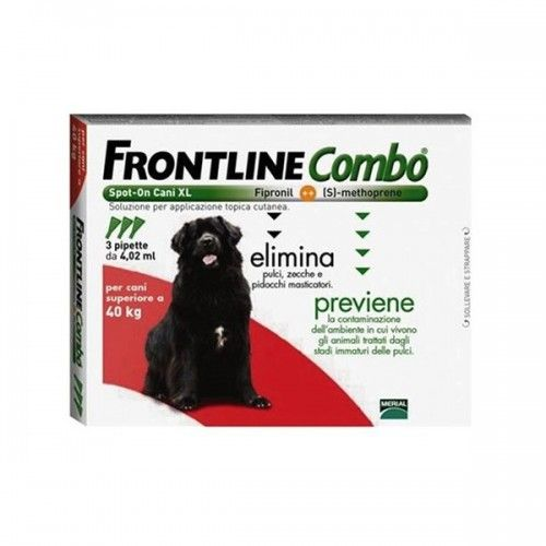 Frontline combo spot on perros 40-60 kg 3 pipetas