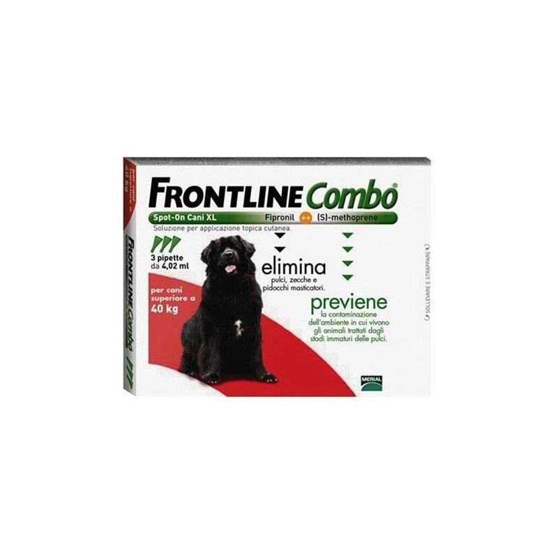 Merial Frontline combo spot on perros 40-60 kg 3 pipetas