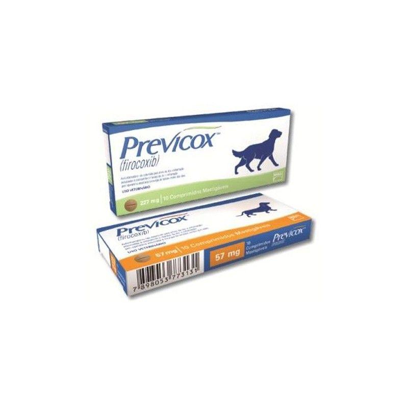 Previcox 57 mg 180 comprimidos masticables para perros