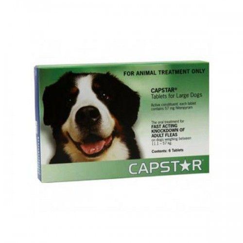 Capstar 57 mg perros grandes 6 comprimidos
