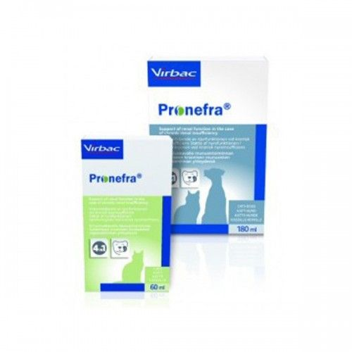 Virbac Pronefra complemento dietetico función renal 60 ml
