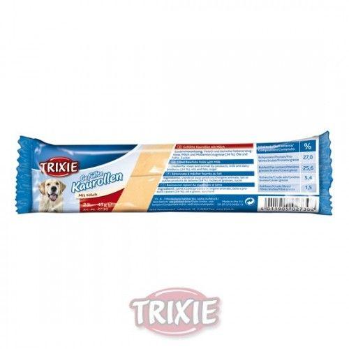Trixie rollitos rellenos jamón 12 cm, 2 uds 35 grs