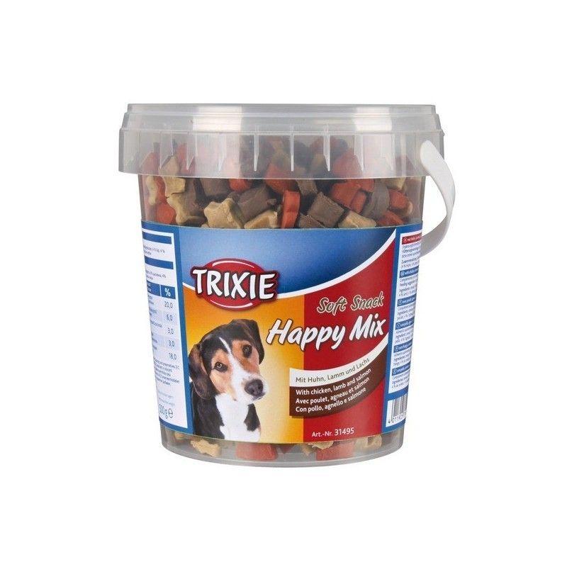 Trixie bote soft snack happy mix 500 gr pollo,salmon y cordero
