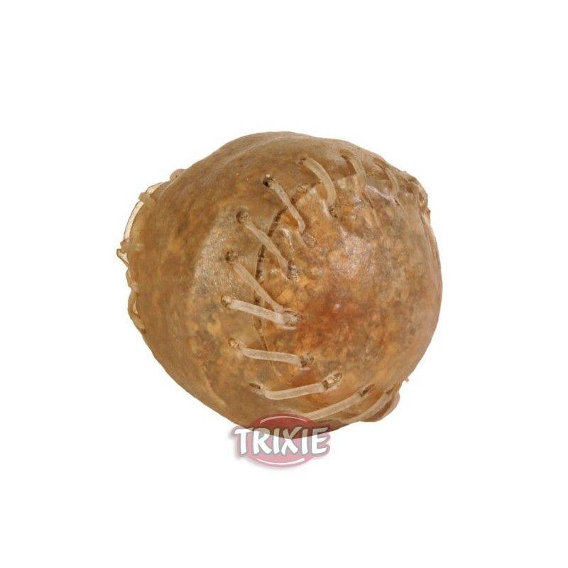Trixie pelota beisbol de piel rellena 70 gr ø 4.5cm