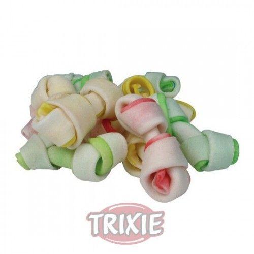 Trixie denta fun dog snack mini huesos 240 gr