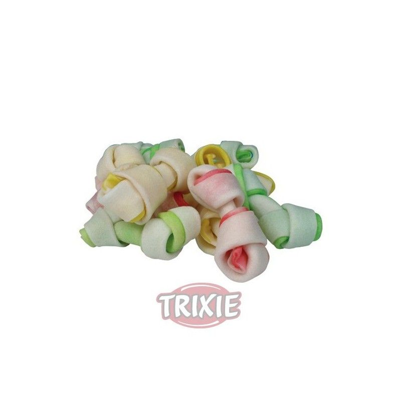 Trixie denta fun dog snack mini huesos 240 gr