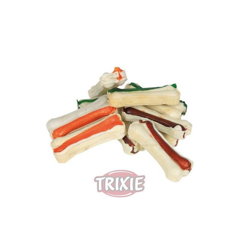 Trixie denta fun dog snack huesos prensados 10 uds 230 gr