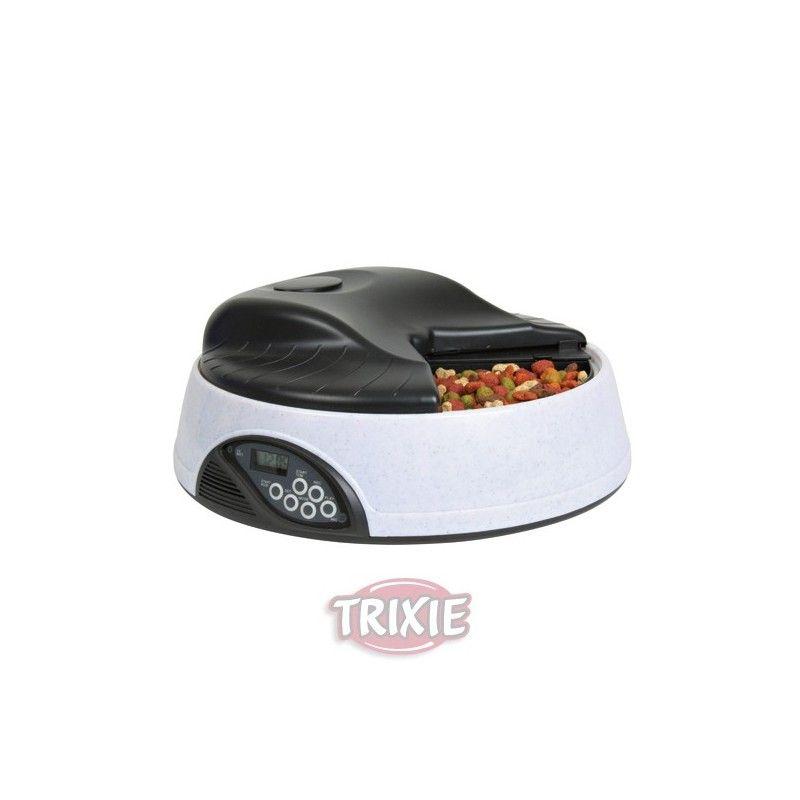 Trixie comedero automatico, tx4, para 4 servicios de 500 ml 4 comidas