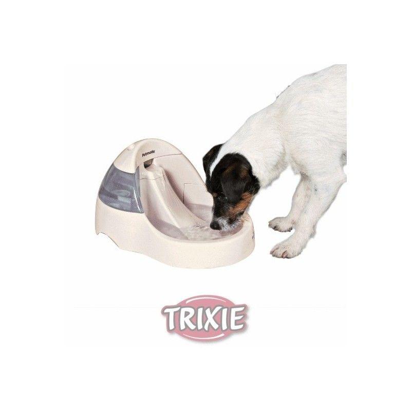 Trixie fuente automatica perros y gatos, blanco, 3 l