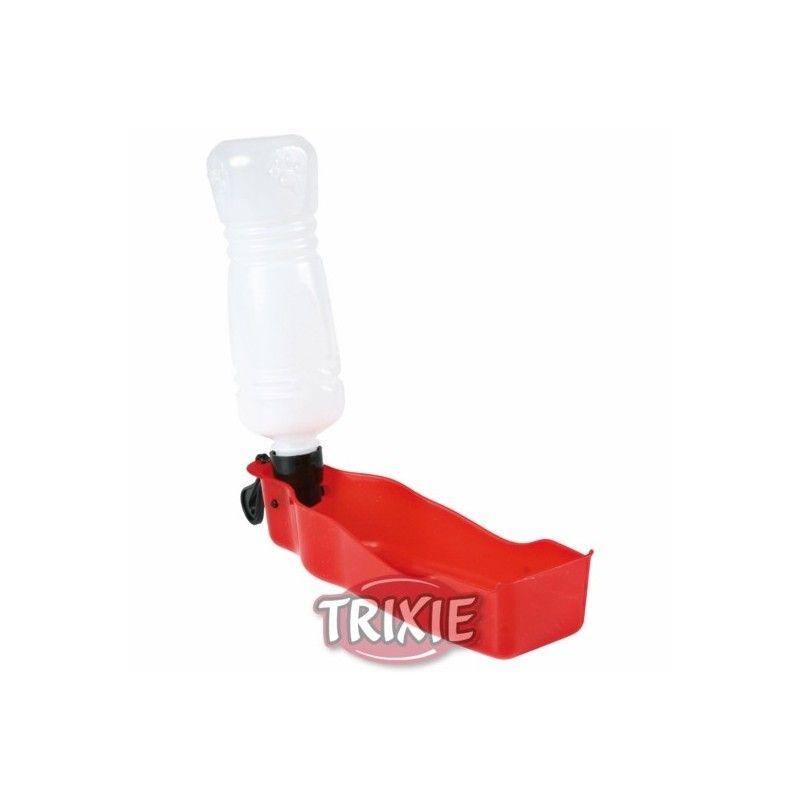 Trixie Bebedero viaje con botella, 250 ml