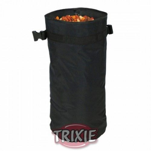 Trixie bolsa alimento, ø 30 cm,58 cm, negro, aprox 15 kg