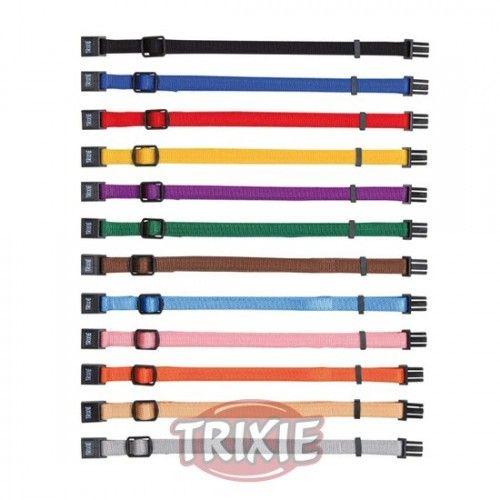 Trixie 6 collares cach., 22-35/10mm, suelta-fácil, surt