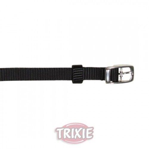 Trixie collar premium, xs: 17-25 cm, 10 mm, negro