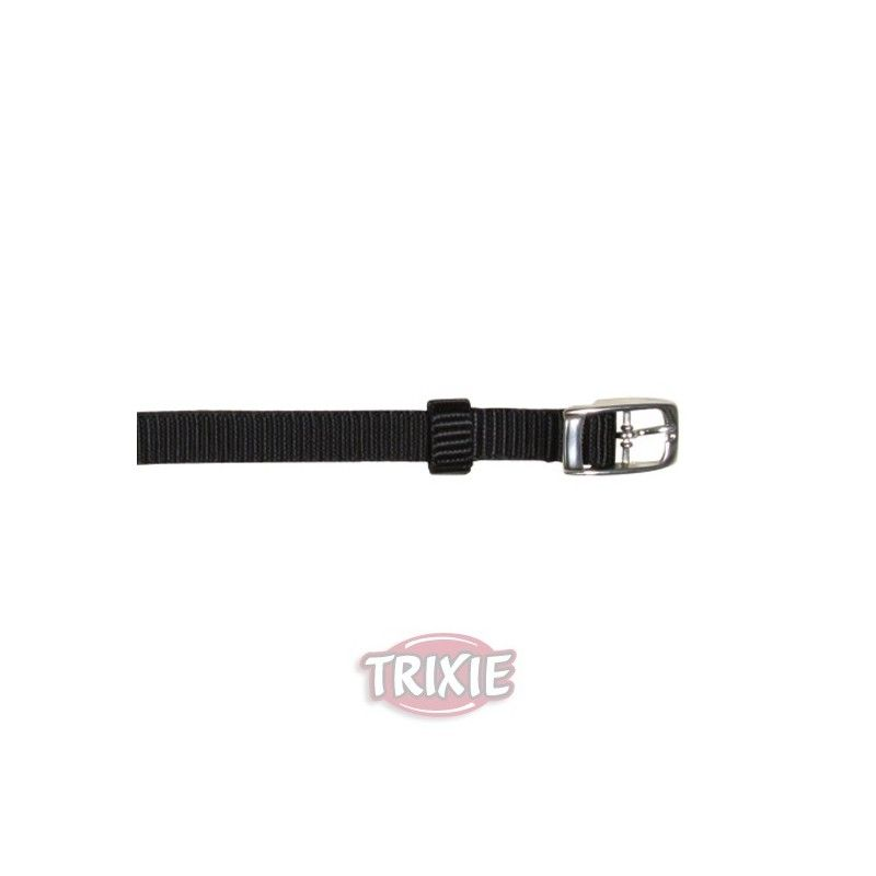 Trixie collar premium, xs: 17-25 cm, 10 mm, negro