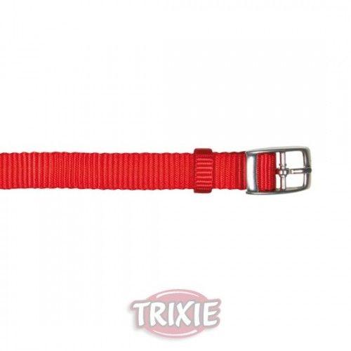 Trixie collar premium, s-m, 24-40 cm, 20 mm, rojo