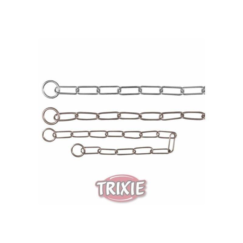Trixie collar estrangulador, acero inox., 50 cm, 2,5 mm